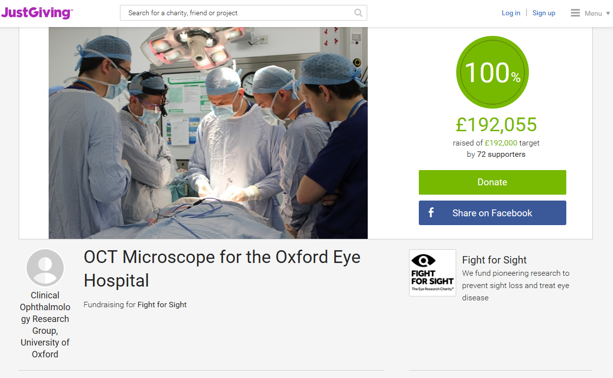 OCT Microscope Crowdfunding