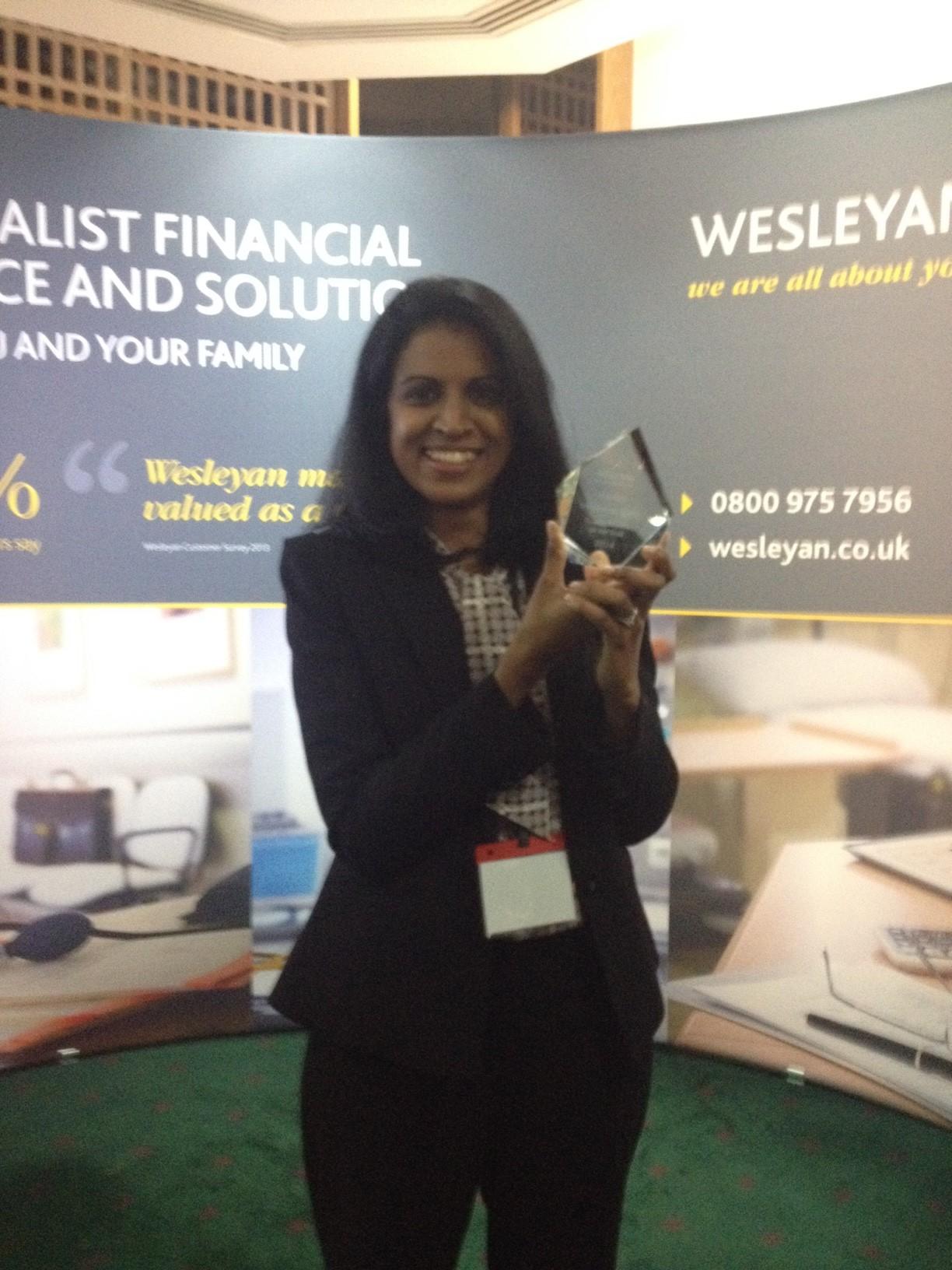 Samantha de Silva - Wesleyan RSM Young Trainee Prize