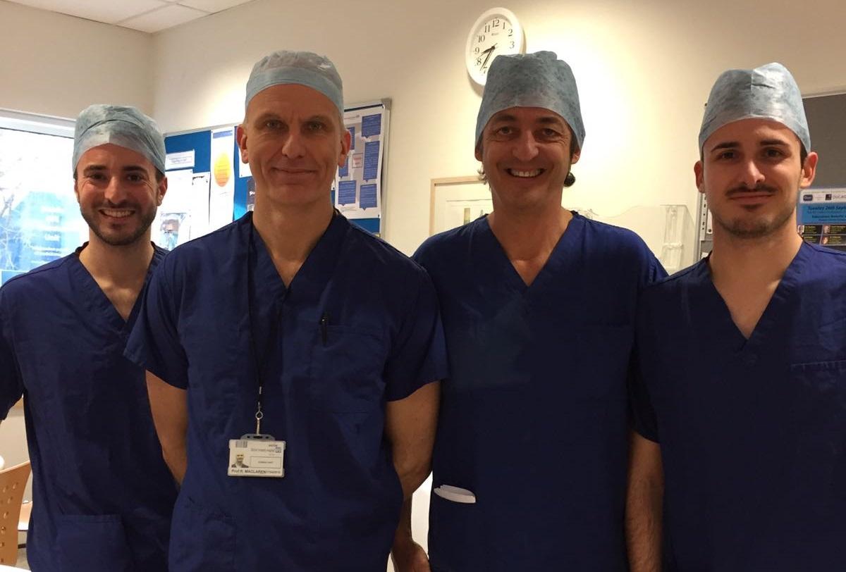 Visiting Italian Surgeons