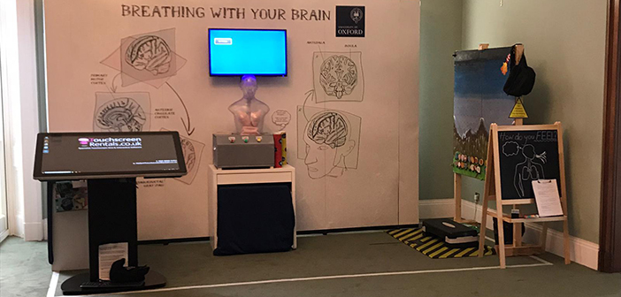 Stand at Royal Society Summer Science Exhibition